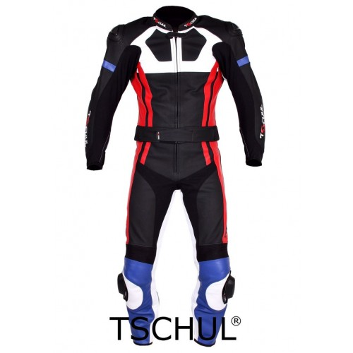 Мото-комбинезон Tschul 580 сине-красный