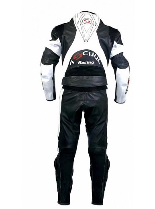 Мото-комбинезон Tschul 770 черно-белый